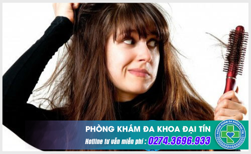 Rụng tóc là dấu hiệu bất thường của sức khỏe